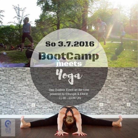 Bootcamp meets Yoga