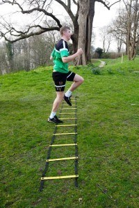 Bootcamp Hamburg Agility Ladder Knie