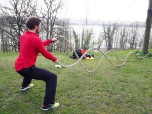 Bootcamp Hamburg Battle Ropes
