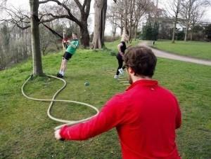 Bootcamp Hamburg Battle Ropes TRX Agility Ladder