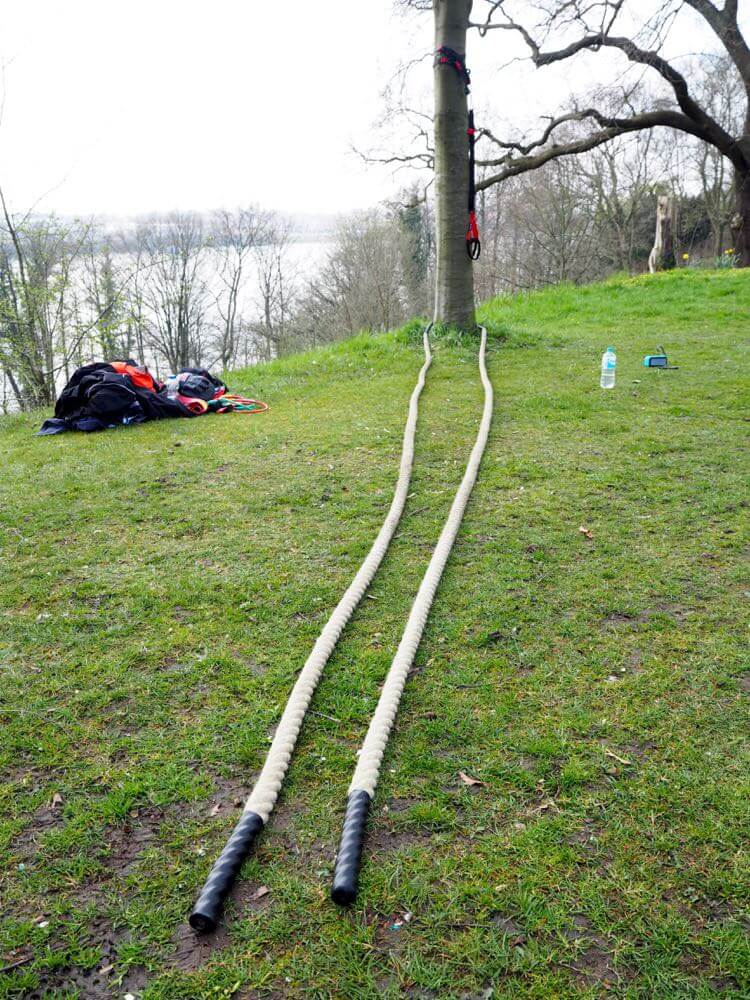 Bootcamp Hamburg Battle Ropes Wilde Seile