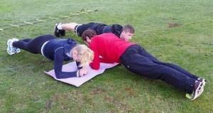 Bootcamp Hamburg Plank Planking Unterarmstuetz