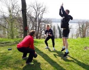 Bootcamp Hamburg Tabata Jump Squat