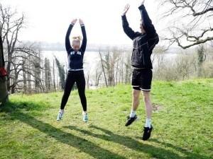 Bootcamp Hamburg Tabata Jump Squats