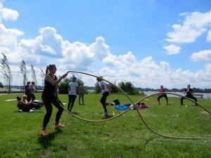 Bootcamp meets Yoga Battle Ropes