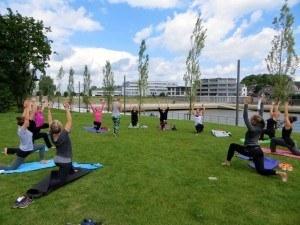 Bootcamp meets Yoga Sonnengruss