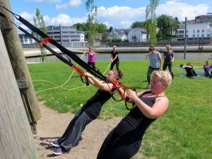 Bootcamp meets Yoga TRX