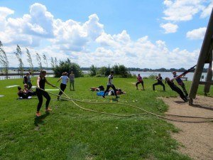 Bootcamp meets Yoga Zirkeltraining