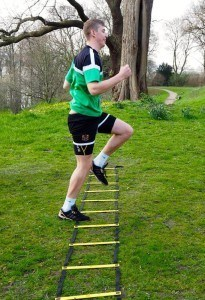 Personal Trainer Hamburg Agility Ladder