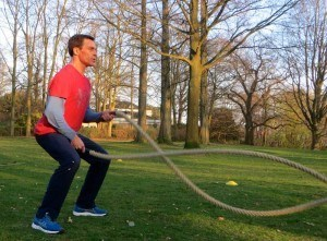 Personal Trainer Hamburg Battle Rope