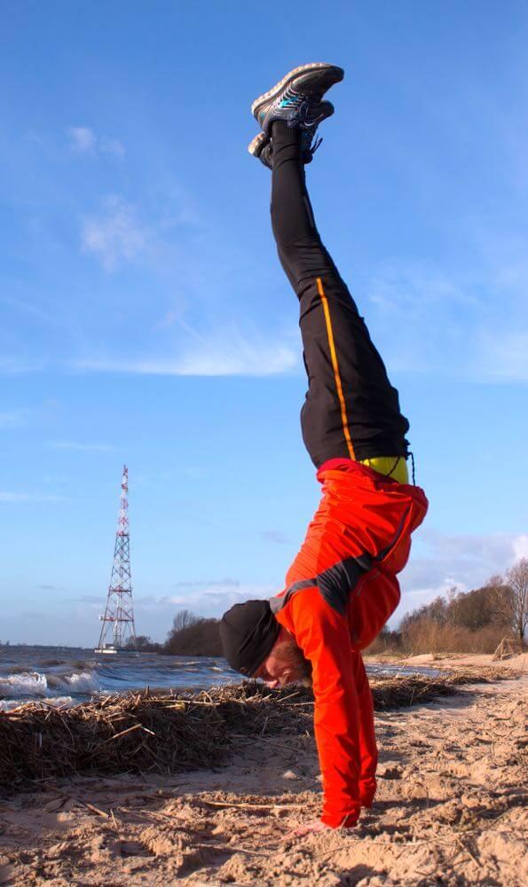 Personal Trainer Hamburg Handstand