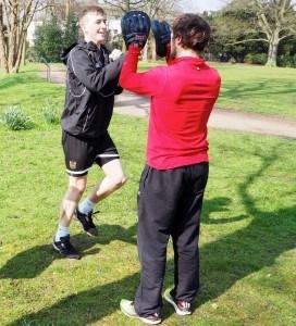 Personal Trainer Hamburg Handpratzen
